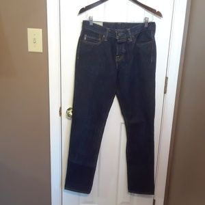 NWOT 30x30 ABERCROMBIE & FITCH MENS JEANS Classic